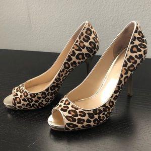 Enzo Angiolini leopard heels